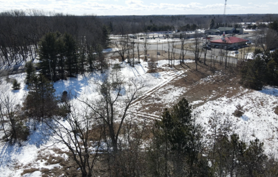 6.7 Acre Commercial Lot in Oakfield Township